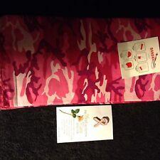 Pink Camouflage Bandana * Free Shipping (1) Breast Cancer Ribbon Pin & (1)