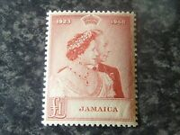 JAMAICA POSTAGE STAMP SG144 £1 RED VERY LIGHTLY MOUNTED-MINT