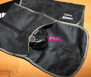 Nikon Nikkor 75th Protect Cloth Bag Pad DSLR Body Lens Df D850 D3500 D4S Kit NEW