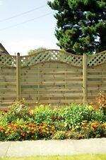 European Omega StMelior Elite Omega Trellis Panel 6ft x3ft Garden Fence Panel