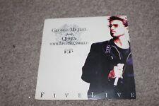 George Michael & Queen feat Lisa Stansfield - vinyl EP - Five Live - 1993