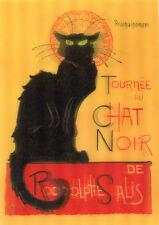3D Lenticular Postcards - The Black Cat, T.A. Steinlen
