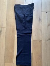 Boy's Next Smart Navy Blue Trousers Age 11 Years