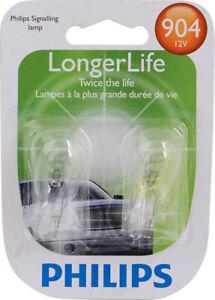 Phillips 904LLB2 LongerLife Miniature 904LL Back Up Light Bulb