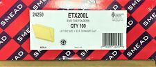 New Listingsmead 24250 Straight Cut End Tab Manila Folders 100box