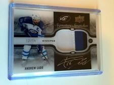 2015-16 Upper Deck Ice Andrew Ladd Signature Swatches 3 Color Patch Auto 12/15!
