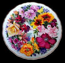 """ROYAL ALBERT PIATTO IN PORCELLANA """"birthday bouquet"""" ed.limitata diametro 21 cm."""