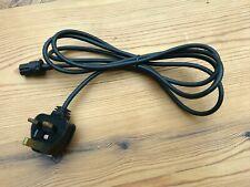 One BULGIN mini 3 pin plug, 14mm body, Ferrograph, Racal, 2 metre cable & PLUG