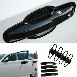 Fit For Honda Accord 2018-2021 10th ABS Black Side Door Handle Bowl Cover Trim