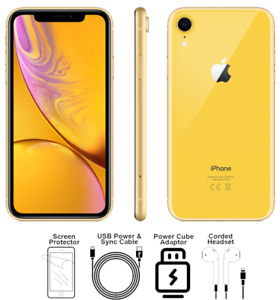 Apple iPhone XR 64GB Yellow(Gold) Unlocked A1984 Verizon AT&T T-Mobile A Grade