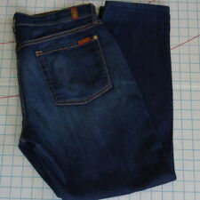 7 For All Mankind Jeans The Relaxed Skinny Denim Size 32 Women's 34/29.5 USA