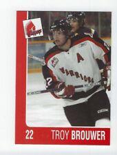 2004-05 Moose Jaw Warriors (WHL) Troy Brouwer