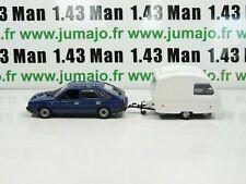 lot 2 VOITURES 1/43 IXO PL124 POLONEZ attelage et caravane La Bohème
