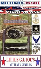 Short Kutt Pocket Chain Saw Survival Saw Preppers Tool Finger Saw MADE U.S.A 21
