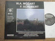 """SARASTRO AUDIOPHILE FRENCH 12"""" LP 45 RPM PARASKIVESCO STEJSKAL MOZART"""