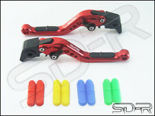 Suzuki Vstrom 650 DL650 2004-2010 SDR RCI Short Adjustable Levers RED
