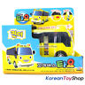 The Little Bus Tayo KINDER Diecast Plastic Car Pull Back Yellow Kindergarten Bus