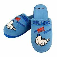 Mr. Men Mr. Lazy Mule Slip On Slippers - One Size UK 8-10