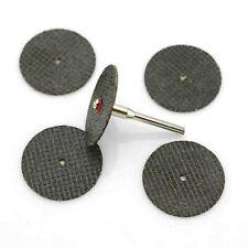 6pc Aluminium Oxide Metal Cutting 31mm DISC SET Dremel Mini Rotary Drill Tool