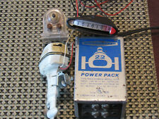 1970's STROMBECKER Working 22 POWER PACK E31167, Plus 2 Motor's,1 Controller!