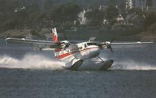 Air Bc DeHavilland Dhc-6 Twin Otter Seaplane , B.C. , Canada , 50-60s