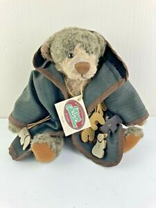 1998 Ganz Cottage Collectibles Teddy Bear NOAH by Lorraine Two by Two Noahs Arc