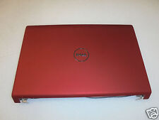 Dell Studio 1557 1558 15.6'' RED LCD Back Cover w/Power Button O16 P/N:  T210N