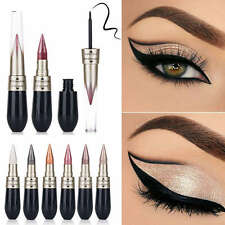 2 in1 Kombination Lidschatten Flüssigkeit Eyeliner Makeup  Waterproof Gifts