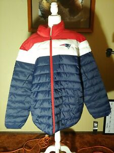 G-III Sports NFL Cold Front Polyfill Quilted Jacket - Patriots Men's Size Xxl