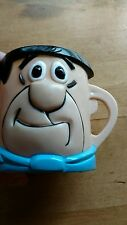 Flintstone mug fred plastic vitamin advertising mug. Great condition.