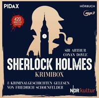 SHERLOCK HOLMES-KRIMIBOX - SHERLOCK HOLMES   CD NEW