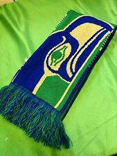 M421/220 NFL Seattle Seahawks Winter Knitted Scarf Retro Logo