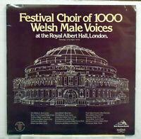 Festival Choir of 1000 Welsh Male Voices - 1979 vinyl LP BM 27