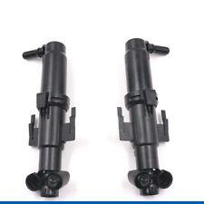 Left&Right Headlight Washer Telescopic Nozzle 61677149885/6 For BMW F07 F10 F11