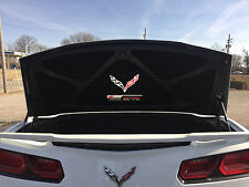 C7 Z06 SUPERCHARGED 650 HP CORVETTE TRUNK DECK LID LINER EMBROIDERED