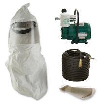 Bullard EDP10 Free Air Pump, 20TIC Hood, 20LCL Lens Covers, & 100' Hose