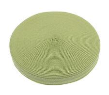 Alfresco Woven Circular Seat Pad, Lime Green Chair Floor Cushion Indoor Outdoor