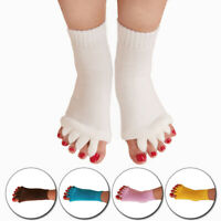 Alignment Socks Massage Open Five Toe Separator Sports Health Care Yoga Gym Foot