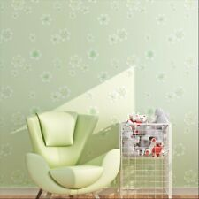 Floral Embossed Non-woven Wall Sticker Wallpaper Bedroom Living Room Decors