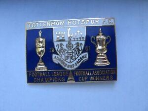 Tottenham Hotspur FC1961Footbal league champions FA vintage, collectable, memora