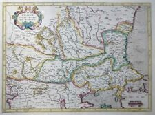 MERCATOR HONDIUS WALACHIA SERVIA BULGARIA ROMANIA SERBIEN RUMÄNIEN BOSPORUS 1606