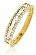 Unbranded Engagement Eternity Yellow Gold Fine Rings