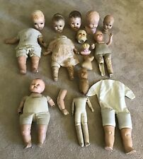 Vintage Doll Parts Bisque Doll New in Box #7012