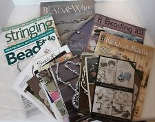 Beading and Jewelry Making Book Bundle