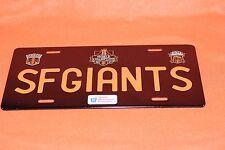 License Plate World Champions San Francisco SF Giants SGA 7/11/2015 NIB