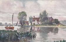 Artist Drawn, HORNING FERRY, Norfolk