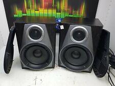 B1733 AIWA SX-NAV304 SPEAKERS 2Way 50watt 6ohm 33h 24d 23.5w cm Deep & Powerful