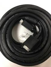 C&E 35 Feet VGA Male to Female, Extension Cable with Ferrites, Black