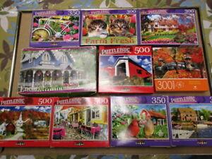 Puzzlebug Jigsaw Puzzle Lot