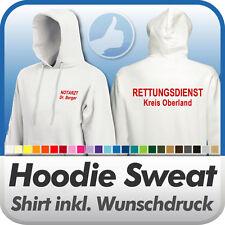 HOODIE KAPUZENSHIRT Fruit of the Loom, m. Wunschdruck Wunschtext / Logo bedruckt